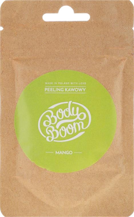 Scrub de cafea, mango - BodyBoom Coffee Scrub Mango