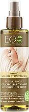 Parfumuri și produse cosmetice Spray pentru coafare cu efect de netezire - ECO Laboratorie Styling and Hair Strengthening