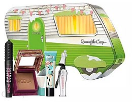 Parfumuri și produse cosmetice Set - Queen of the Camp (mascara\8.5g + f/balm/22ml + brow/gel/7ml + powder/8g)