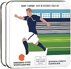 "Parfumuri și produse cosmetice Săpun ""Fotbal"" - Scottish Fine Soaps Football Sports Soap In A Tin"