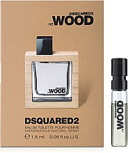 Parfumuri și produse cosmetice DSQUARED2 HE WOOD - Apă de toaletă (mostră)