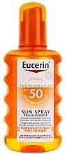 Parfumuri și produse cosmetice Spray de corp cu protecție solară - Eucerin Sun Spray Transparent SPF 50