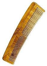 Parfumuri și produse cosmetice Pieptene pentru păr - Lass Naturals IHT9 Neem Wood Comb