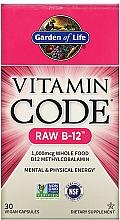 Parfumuri și produse cosmetice Supliment alimentar - Garden of Life Vitamin Code RAW B-12