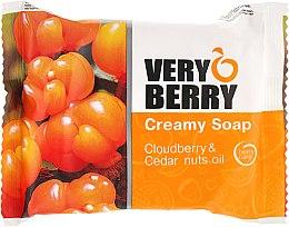 Parfumuri și produse cosmetice Săpun-cremă - Very Berry Cloudberry & Cedar Nuts Oil