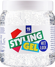 "Parfumuri și produse cosmetice Gel de păr ""Efectul umed"" - Hegron Styling Gel Wet Look"