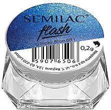 Parfumuri și produse cosmetice Pudră efect oglindă pentru unghii - Semilac Flash