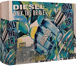 Parfumuri și produse cosmetice Diesel Only The Brave - Set (edt/50ml + sh/g/100ml)