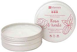 """Parfumuri și produse cosmetice Cremă de mâini """"Trandafir și shea"""" - La Saponaria Hand Cream Rose and Shea Butter"""