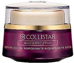 Parfumuri și produse cosmetice Cremă regenerantă pentru conturul ochilor - Collistar Magnificent Plus Regenerating Eye Cream Plumping