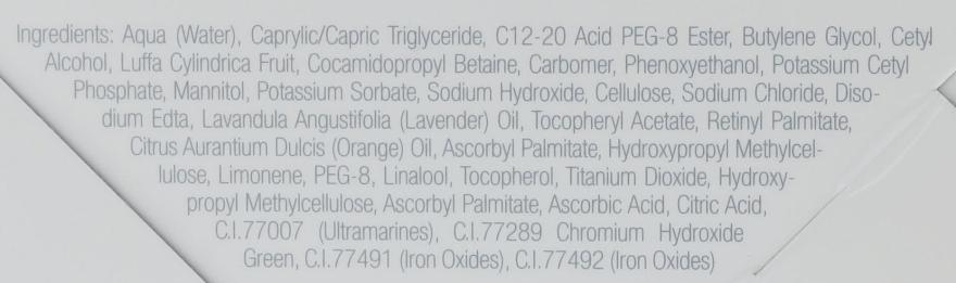 "Scrub de față ""Cocktail de vitamine"" - LOOkX Vitamin Cocktail Scrub — Imagine N4"