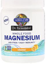 Parfumuri și produse cosmetice Supliment alimentar-Magneziu cu aromă de portocală, praf - Garden of Life Dr. Formulated