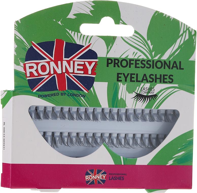 Set gene false, 10,12,14 mm - Ronney Professional Eyelashes 00034 — Imagine N1
