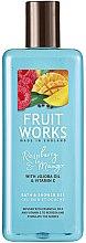 Parfumuri și produse cosmetice Gel de duș - Grace Cole Fruit Works Raspberry & Mango