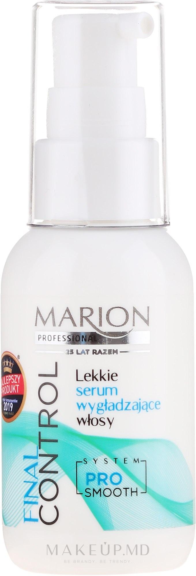 Ser pentru îndreptarea părului - Marion Final Control — Imagine 50 ml