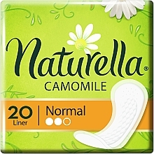Parfumuri și produse cosmetice Absorbante de zi, 20 buc - Naturella Camomile Comfort Complex Normal