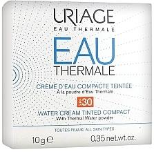 Parfumuri și produse cosmetice Cremă-pudră pentru față - Uriage Eau Thermale Water Tinted Cream Compact SPF30