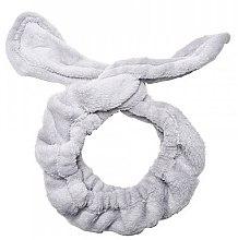 Parfumuri și produse cosmetice Bandă de păr, gri - Dr. Mola Rabbit Ears Hair Band