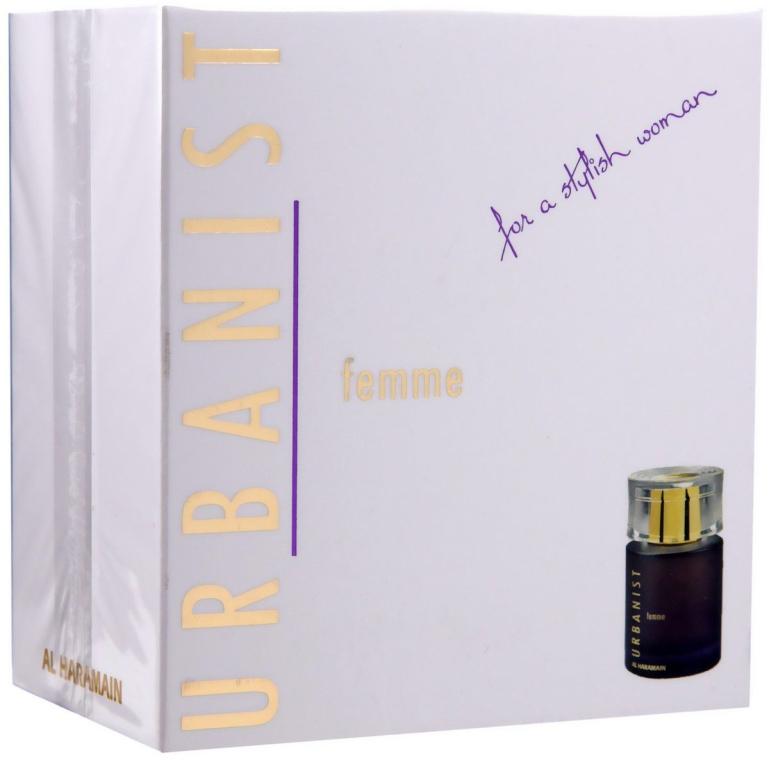 Al Haramain Urbanist Femme - Apa parfumată