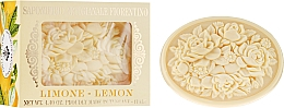 """Parfumuri și produse cosmetice Săpun natural """"Lămâie"""" - Saponificio Artigianale Fiorentino Botticelli Lemon Soap"""