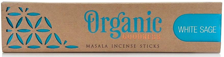 Bețișoare aromatice - Song Of India Organic Goodness White Sage