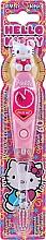 Parfumuri și produse cosmetice Periuța de dinți pentru copii, cu cronometru - VitalCare Hello Kitty