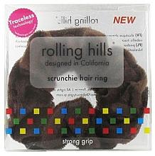 Parfumuri și produse cosmetice Elastic de păr, maro - Rolling Hills Scrunchie Hair Rings Brown