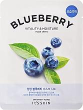 Parfumuri și produse cosmetice Mască de față - It's Skin The Fresh Blueberry Mask Sheet