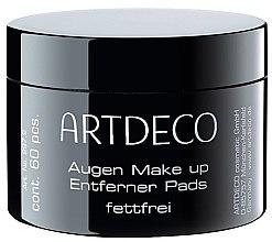 Parfumuri și produse cosmetice Discuri din bumbac pentru demachiere - Artdeco Eye Makeup Remover Pads Non Oily