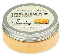 "Духи, Парфюмерия, косметика Сахарный мусс для душа ""Апельсин"" - The Secret Soap Store Orange Body Sugar Whip"