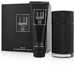 Parfumuri și produse cosmetice Alfred Dunhill Icon Elite - Set (edp/100ml + sh/gel/90ml)