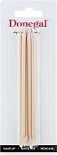 Parfumuri și produse cosmetice Bețișoare pentru unghii, cu aromă de portocale, 12 cm, 9208 - Donegal