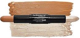 Набор - Bellapierre Face Slay Kit Fair/Medium (stick/8.6g + powder/6.5g + spray/70ml + sponge/1pcs) — фото N3