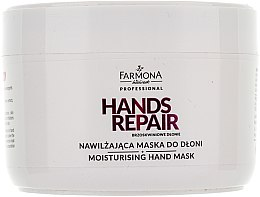 Parfumuri și produse cosmetice Mască pentru mâini - Farmona Farmona Brzoskwiniowe Dlonie