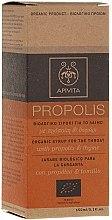 Parfumuri și produse cosmetice Sirop organic cu propolis și cimbru - Apivita With Propolis&Thyme