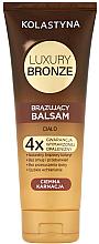 Parfumuri și produse cosmetice Balsam autobronzant pentru piele închisă la culoare - Kolastyna Luxury Bronze Tanning Balm