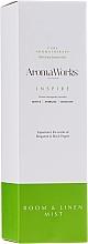 "Parfumuri și produse cosmetice Odorizant de aer ""Inspirație"" - AromaWorks Inspire Room Mist"