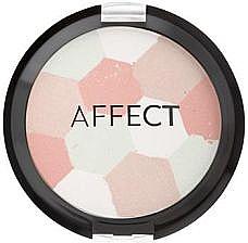 Pudră bronzantă - Affect Cosmetics Glamour Mosaic Powder — Imagine N1