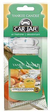 Aromatizator auto - Yankee Candle Car Jar Alfresco Afternoon