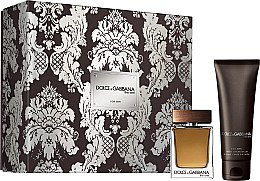 Parfumuri și produse cosmetice Dolce & Gabbana The One for Men - Set (edt/50ml + ash/balm/75ml)
