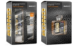 Parfumuri și produse cosmetice Set - Bond Spacequest (aftershave/100ml + foam/200ml + cr/75ml)