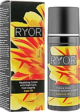 Parfumuri și produse cosmetice Cremă nutritivă cu celule stem Argan - Ryor Argan Oil Nourishing Cream With Argania Stem Cells