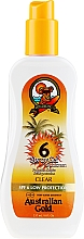 Parfumuri și produse cosmetice Gel-spray cu protecție solară - Australian Gold Body Spray Gel SPF6
