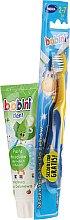 Parfumuri și produse cosmetice Set - Bobini (toothbrush + toothpaste/75ml)