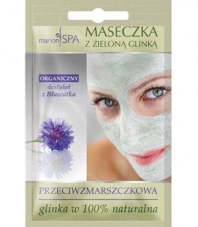 Mască de față cu argilă verde - Marion SPA Mask — Imagine N1