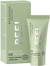 Parfumuri și produse cosmetice Mască de față - Madara Cosmetics Brightening AHA Peel Mask
