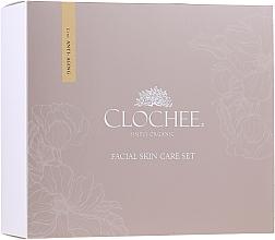 Parfumuri și produse cosmetice Set - Clochee (f/d/cr/50ml + f/n/cr/50ml + eye/cr/mask/15ml)