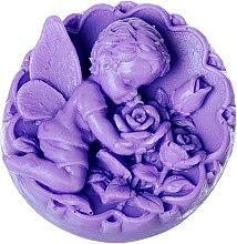 """Săpun natural """"Înger cu trandafiri"""", mov - LaQ Happy Soaps — Imagine N1"""