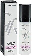 Parfumuri și produse cosmetice Primer pentru față - Golden Rose Make-Up Primer Mattifying & Pore Minimising