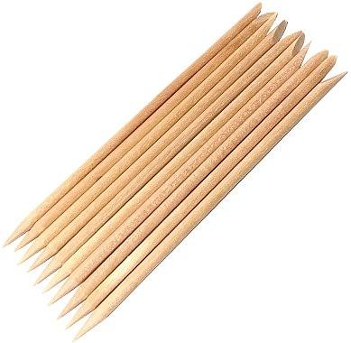 Bețișoare din lemn de portocal pentru manichiură - Kabos